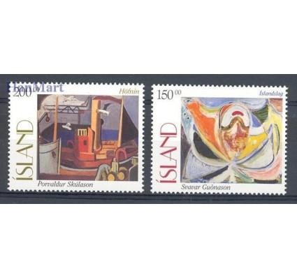 Islandia 1997 Mi 864-865 Czyste **