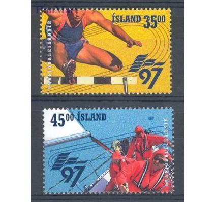 Islandia 1997 Mi 870-871 Czyste **