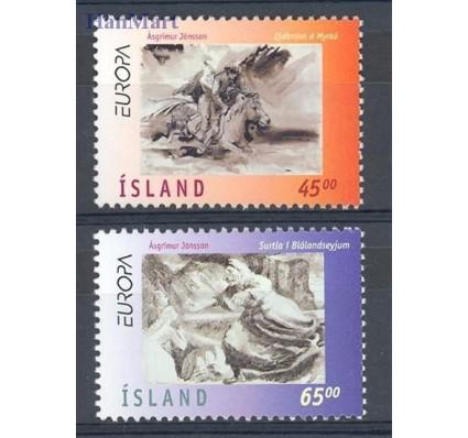 Islandia 1997 Mi 872-873 Czyste **