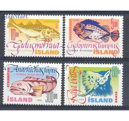 Znaczek Islandia 1998 Mi 886-889 Czyste **