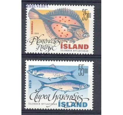 Znaczek Islandia 1999 Mi 903-904 Czyste **