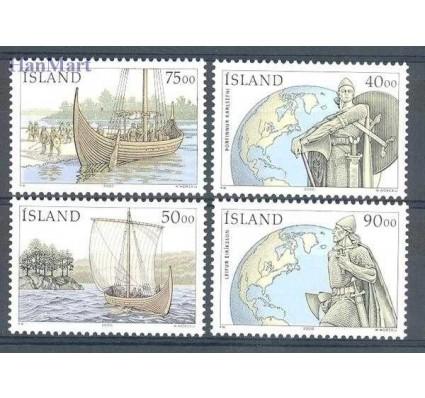 Znaczek Islandia 2000 Mi 945-948 Czyste **