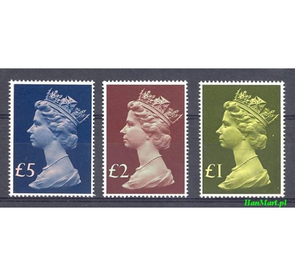 Wielka Brytania 1977 Mi 732-734 Czyste **