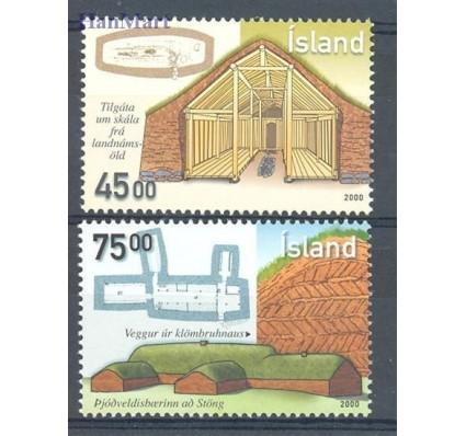 Islandia 2000 Mi 965-966 Czyste **