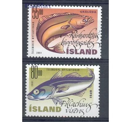 Znaczek Islandia 2001 Mi 971-972 Czyste **