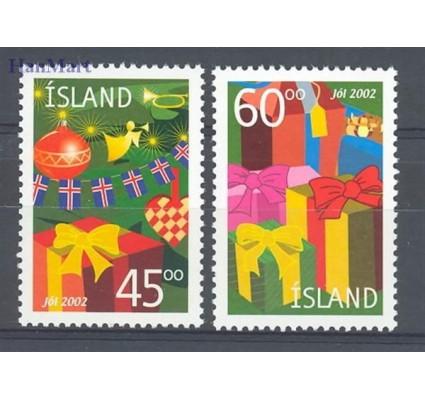 Znaczek Islandia 2002 Mi 1024-1025 Czyste **