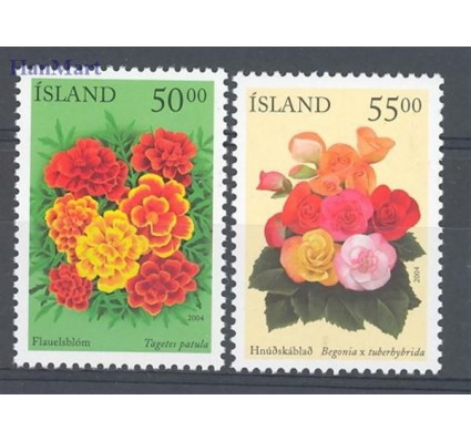 Znaczek Islandia 2004 Mi 1051-1052 Czyste **