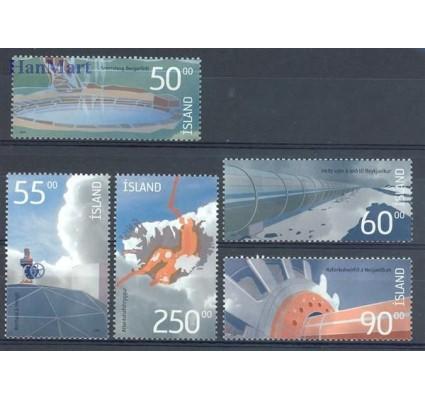 Znaczek Islandia 2004 Mi 1055-1059 Czyste **