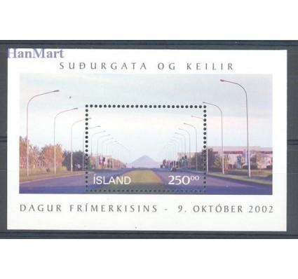 Znaczek Islandia 2002 Mi bl 31 Czyste **