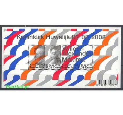 Holandia 2002 Mi bl 74 Czyste **