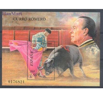 Znaczek Hiszpania 2001 Mi bl 101 Czyste **