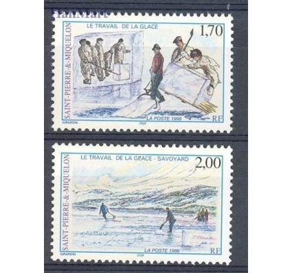 Znaczek Saint-Pierre i Miquelon 1998 Mi 754-755 Czyste **
