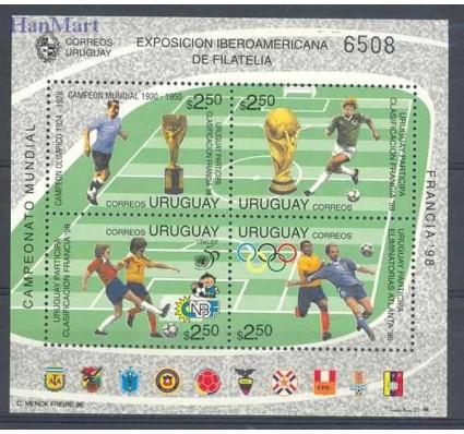 Znaczek Urugwaj 1996 Mi bl 72 Czyste **