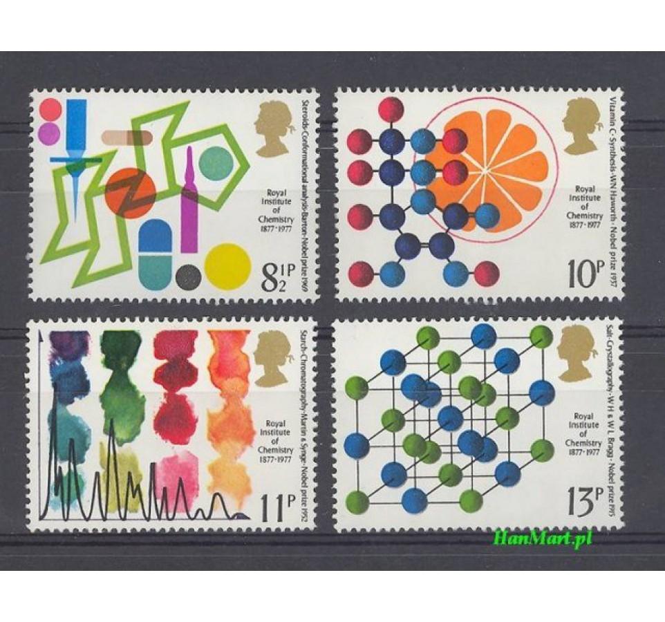Wielka Brytania 1977 Mi 735-738 Czyste **