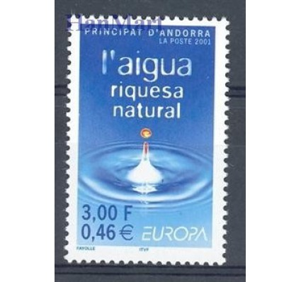 Andora Francuska 2001 Mi 567 Czyste **