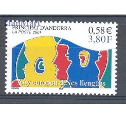 Andora Francuska 2001 Mi 570 Czyste **