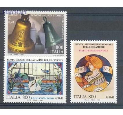 Znaczek Włochy 1999 Mi 2624-2626 Czyste **