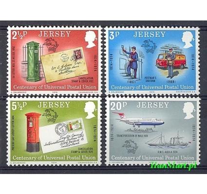 Jersey 1974 Mi 99-102 Czyste **