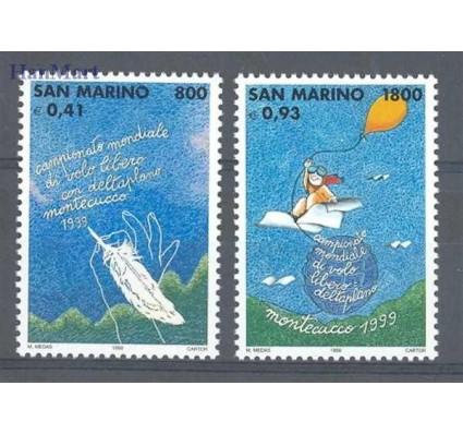 Znaczek San Marino 1999 Mi 1810-1811 Czyste **