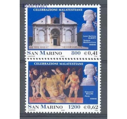 Znaczek San Marino 2001 Mi 1932-1933 Czyste **