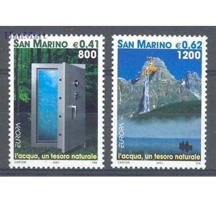 Znaczek San Marino 2001 Mi 1950-1951 Czyste **