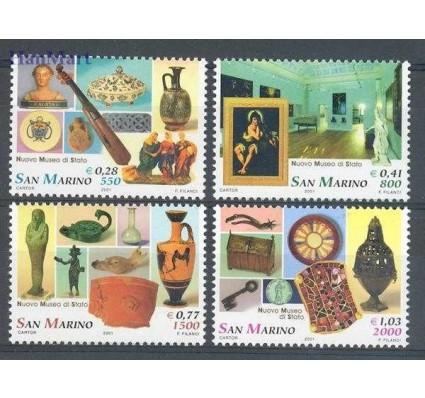 Znaczek San Marino 2001 Mi 1970-1973 Czyste **