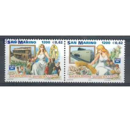 Znaczek San Marino 2001 Mi 1976-1977 Czyste **