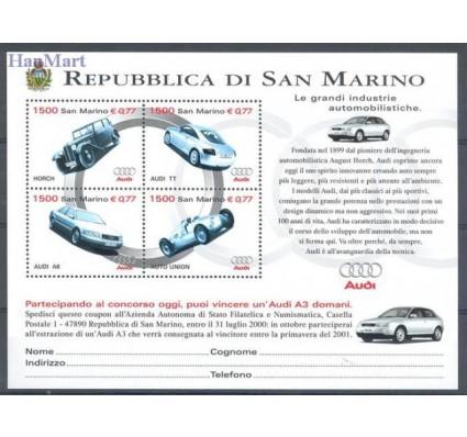 Znaczek San Marino 1999 Mi bl 26 Czyste **