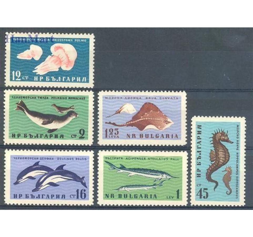 Bułgaria 1961 Mi 1243-1248 Czyste **