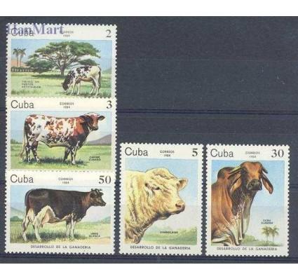 Znaczek Kuba 1984 Mi 2880-2884 Czyste **