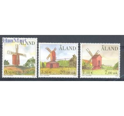 Znaczek Wyspy Alandzkie 2001 Mi 192-194 Czyste **