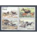 Wyspy Alandzkie 20007 Mi h-blatt 8 Czyste **