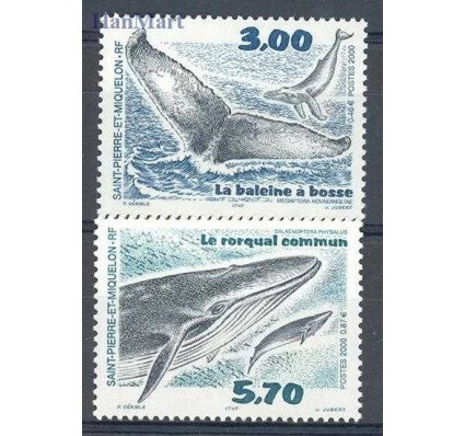 Znaczek Saint-Pierre i Miquelon 2000 Mi 791-792 Czyste **