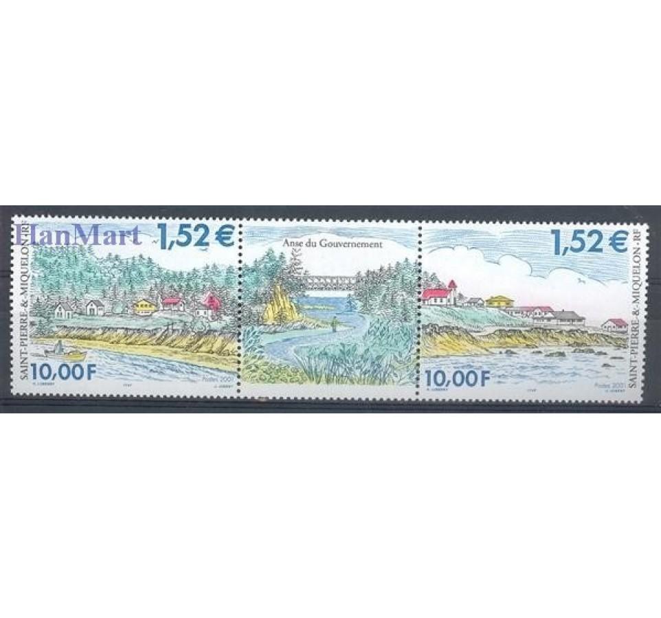 Saint-Pierre i Miquelon 2000 Mi 807-808 Czyste **