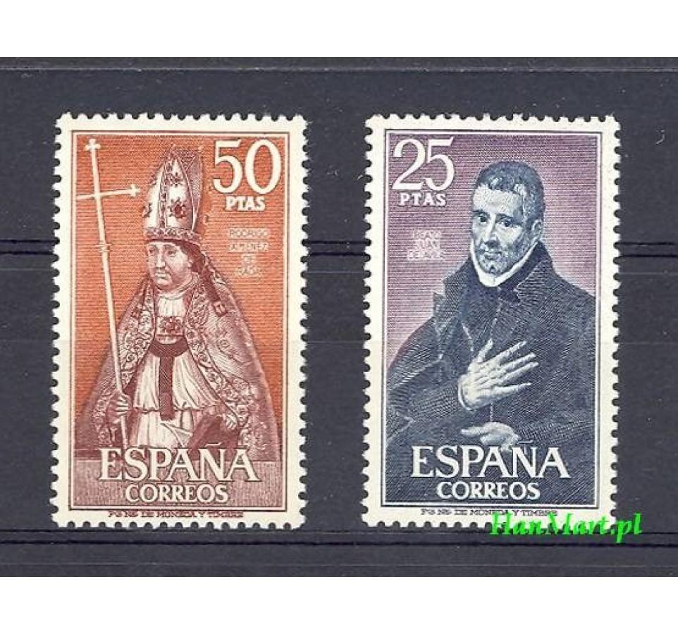 Hiszpania 1970 Mi 1846-1847 Czyste **
