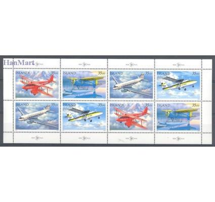 Znaczek Islandia 1997 Mi ark 866-869 Czyste **