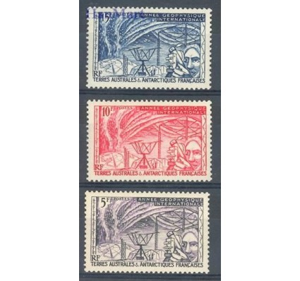 Znaczek TAAF 1957 Mi 10-12 Czyste **