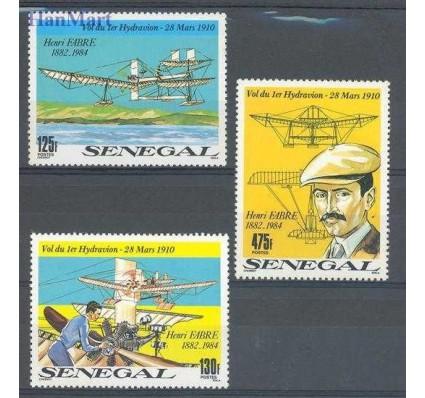 Znaczek Senegal 1989 Mi 1061-1063 Czyste **