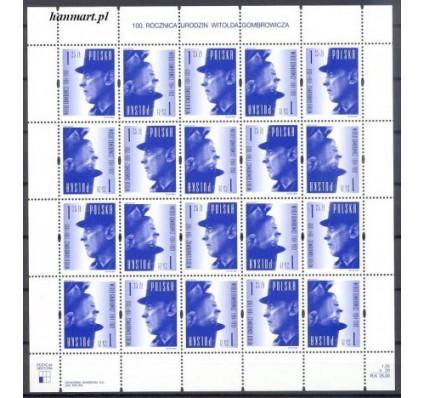 Polska 2004 Mi ark 4130 Fi ark 3980 Czyste **