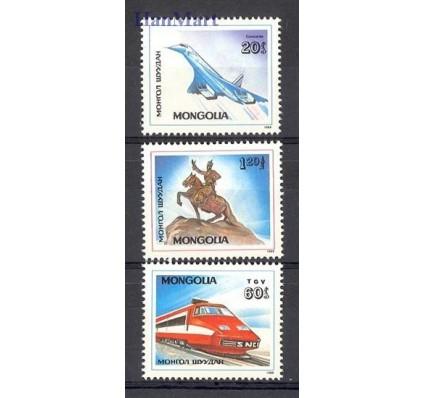 Znaczek Mongolia 1989 Mi 2062-2064 Czyste **