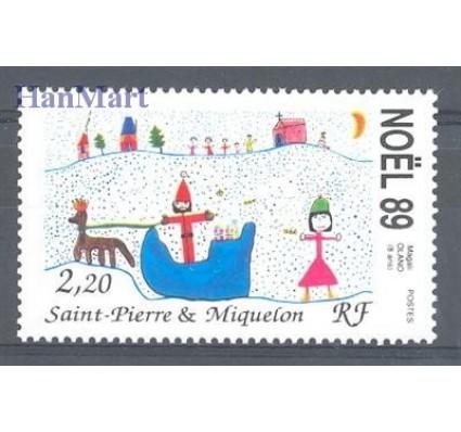 Saint-Pierre i Miquelon 1989 Mi 585 Czyste **