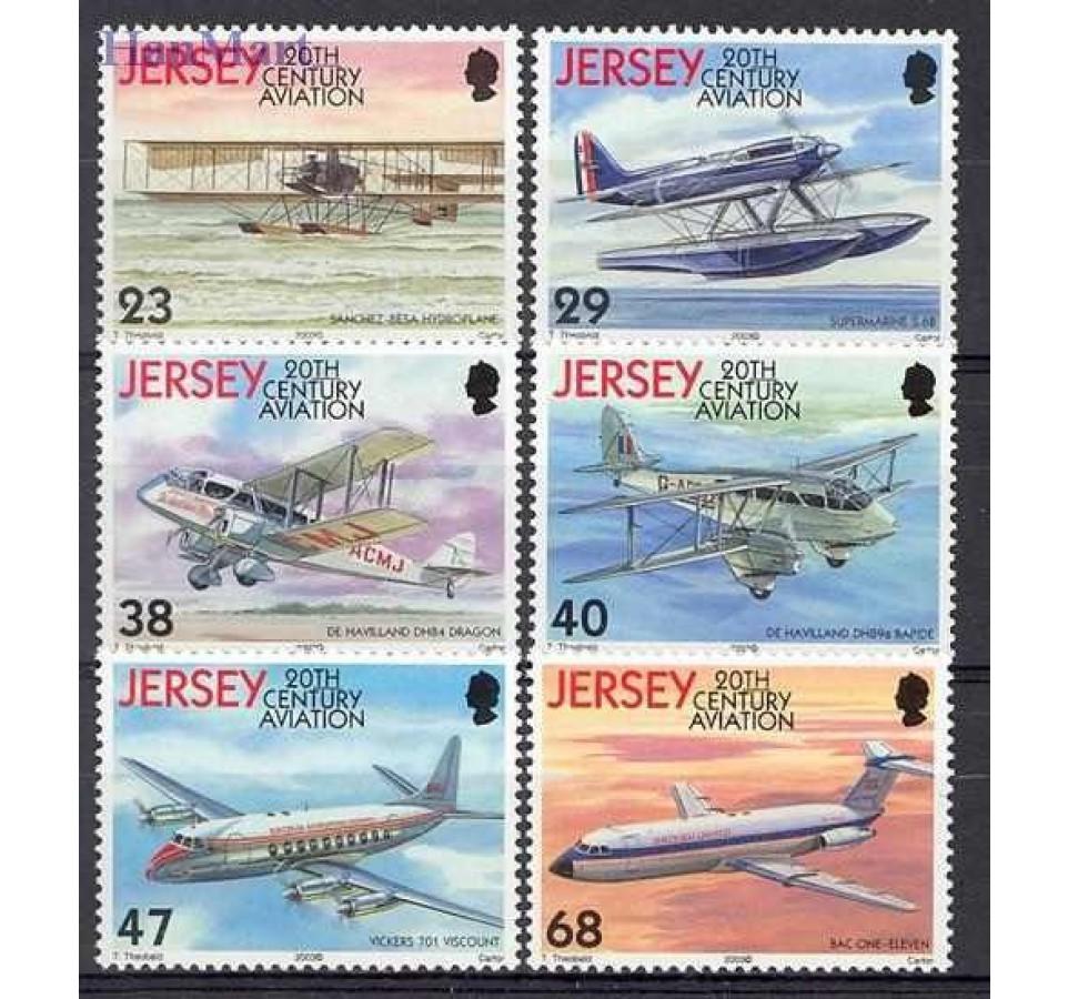 Jersey 2003 Mi 1062-1067 Czyste **