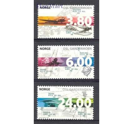 Znaczek Norwegia 1998 Mi 1292-1294 Czyste **