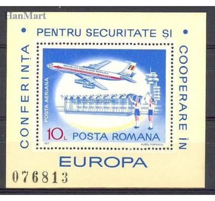 Znaczek Rumunia 1977 Mi bl 143 Czyste **