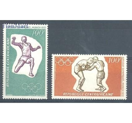 Republika Środkowoafrykańska 1972 Mi 265-266 Czyste **