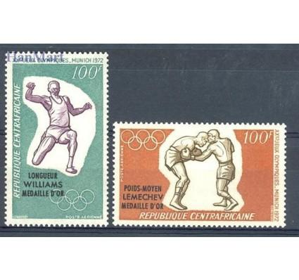Znaczek Republika Środkowoafrykańska 1972 Mi 289-290 Czyste **