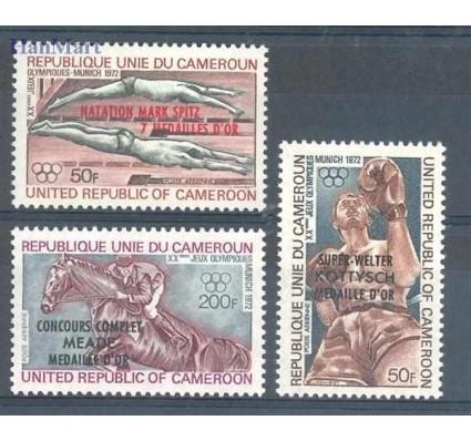 Znaczek Kamerun 1972 Mi 712-714 Czyste **