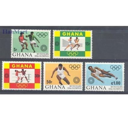 Znaczek Ghana 1972 Mi 472-476 Czyste **