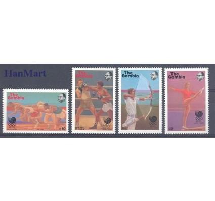 Znaczek Gambia 1988 Mi 758-761 Czyste **