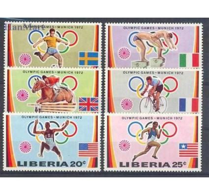 Znaczek Liberia 1972 Mi 826-831 Czyste **